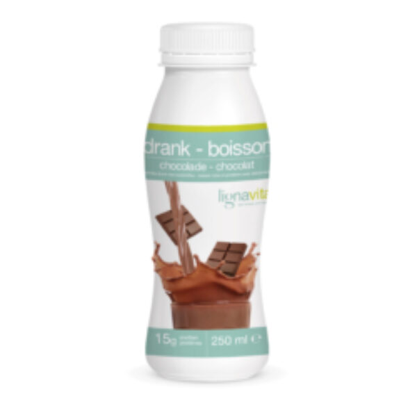 3 D FLES GROOT SMOOTHIE CHOCOLADE 09 2017